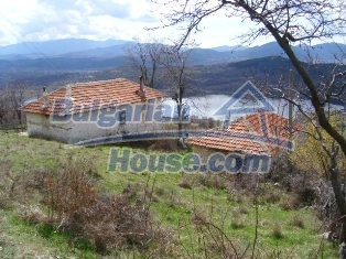 5858:1 - Two bulgarian houses in a peaceful area with river and mountain