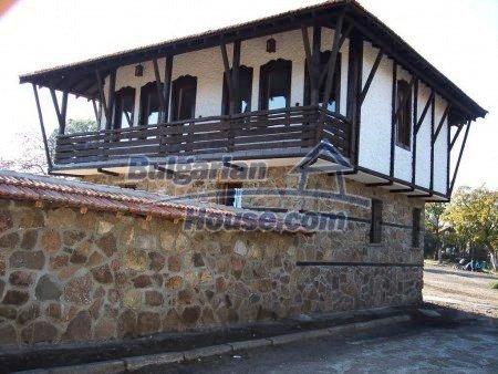7752:1 - Bulgarian old stile house for sale near Sunny Beach