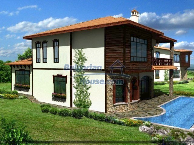 8013:3 - Newly built up bulgarian house- part of the unique project in Va