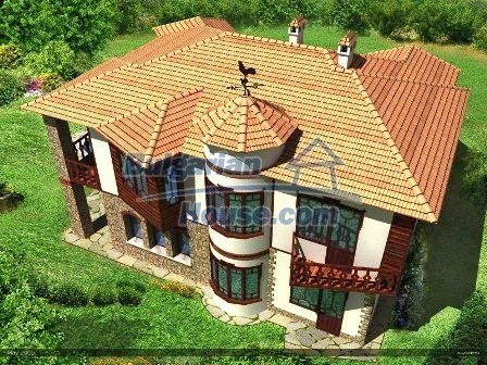 8016:6 - Newly built up weathervane bulgarian house- part of the unique p