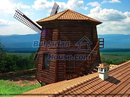 8019:2 - Newly built up windmill bulgarian house- part of the unique proj