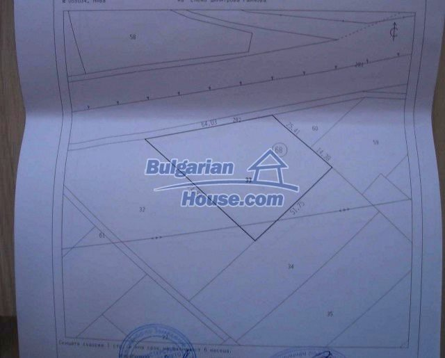 8058:1 - 9000sq.m plot of agricultural plot of bulgarian land at very rea