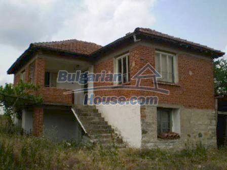 8190:1 - A decent two-storey bulgarian house for sale made of stones and