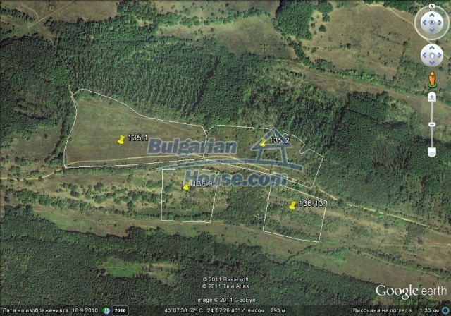 9675:1 - Huge plot of agricultural plot of land for sale in Bulgaria