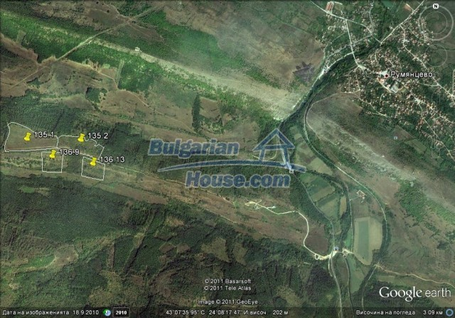 9675:2 - Huge plot of agricultural plot of land for sale in Bulgaria