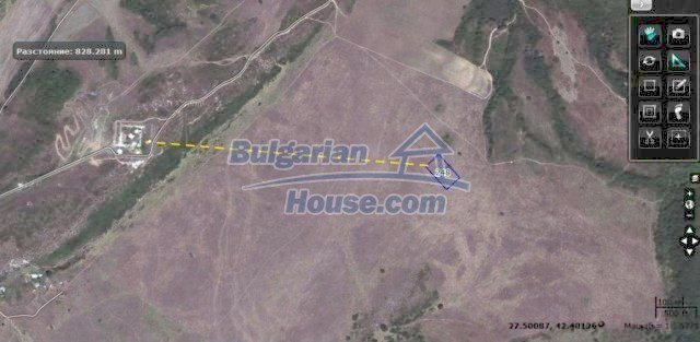10451:14 - Development bulgarian land suitable for building near Burgas and