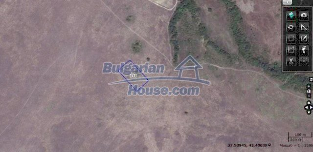 10451:15 - Development bulgarian land suitable for building near Burgas and