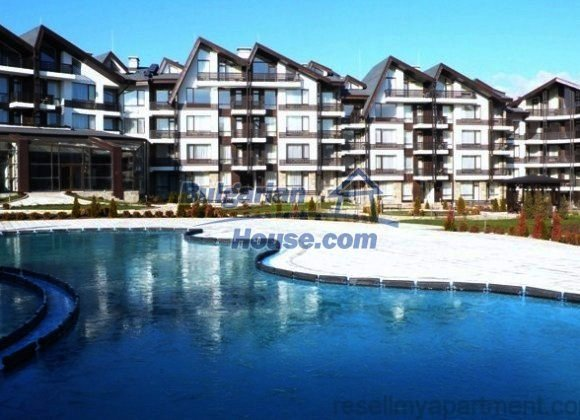 10776:16 - Wonderful one-bedroom apartment with mountain view, Bansko