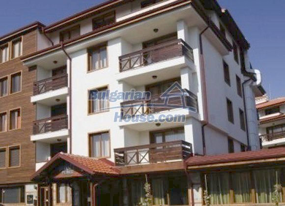 10835:1 - Furnished one-bedroom apartment with panoramic view in Bansko