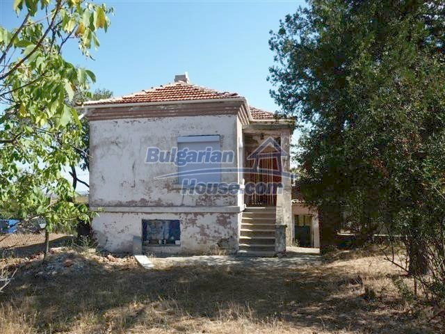 11002:6 - Furnished partially renovated Bulgarian house, Yambol