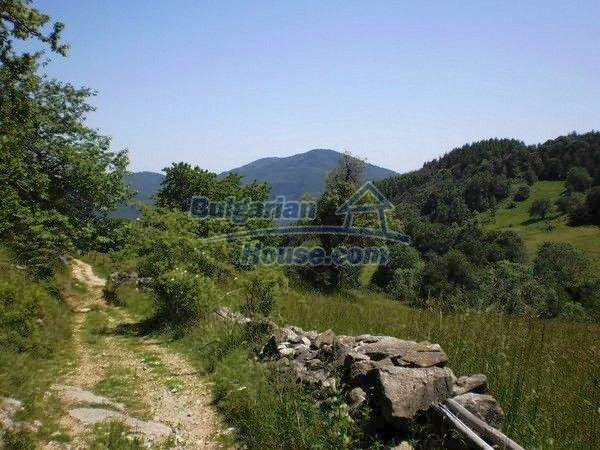 11138:12 - Solid stone built rural house with a huge garden near Smolyan