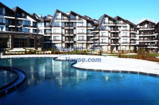 11189:18 - Luxury furnished one-bedroom apartment in Bansko,lovely scenery
