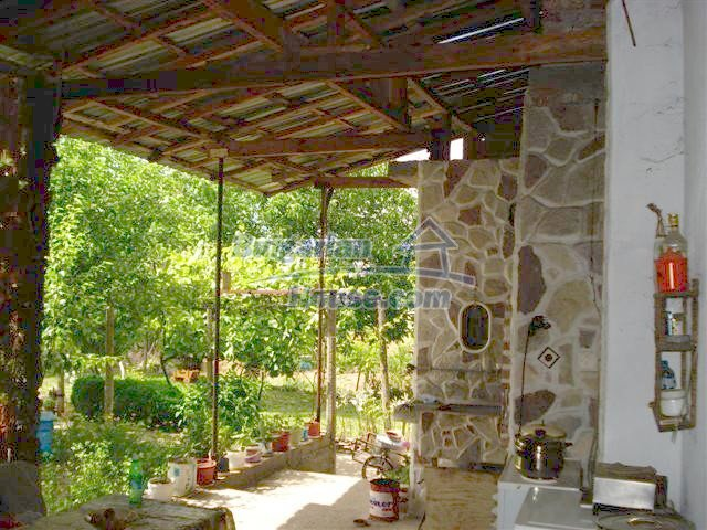 11357:19 - Completed rural house with a splendid garden near Elhovo