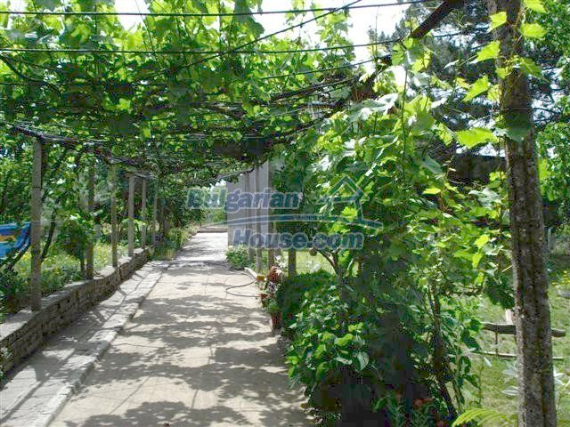 11357:21 - Completed rural house with a splendid garden near Elhovo