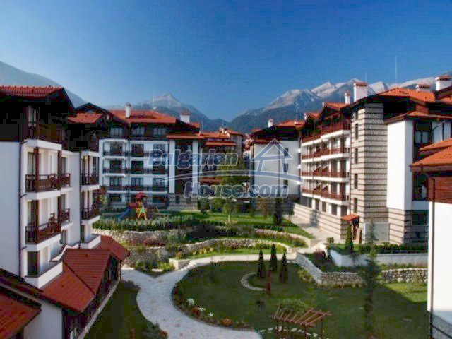 11690:1 - Elegant furnished studio with stunning panorama in Bansko