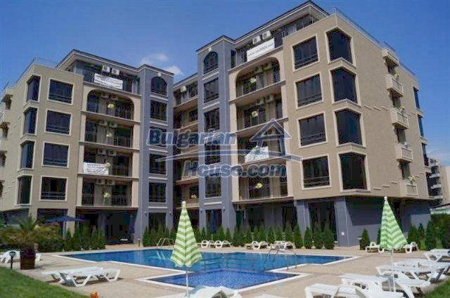 12057:2 - Studio apartment with furniture in Sunny Beach – great location