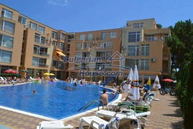 12074:1 - Bulgarian studio apartment with elegant furniture in Sunny Beach