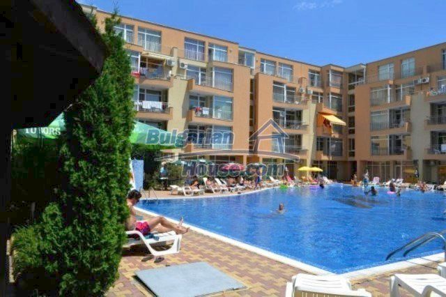 12074:2 - Bulgarian studio apartment with elegant furniture in Sunny Beach