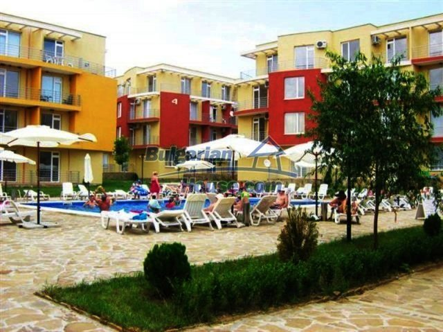 12115:11 - Compact elegant studio with furniture near Sunny Beach