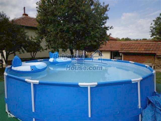 12207:13 - Fantastic furnished house with pool and garden near Sungurlare