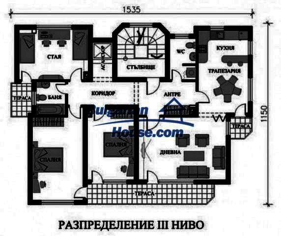12298:12 - Bulgarian property suitable for hotel,large house,49km-Pamporovo