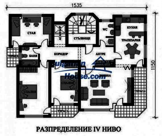 12298:16 - Bulgarian property suitable for hotel,large house,49km-Pamporovo