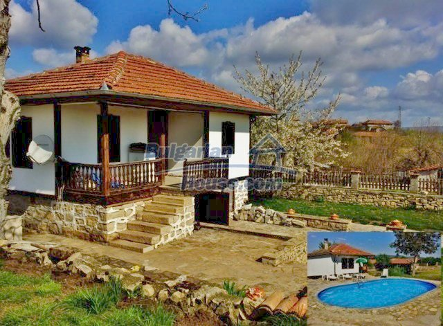 12375:1 - Traditional Bulgarian house with swimming pool ,Veliko Tarnovo