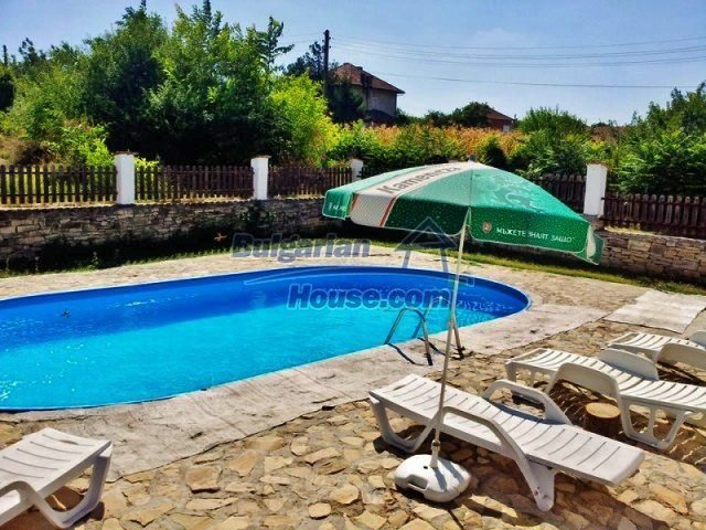 12375:15 - Traditional Bulgarian house with swimming pool ,Veliko Tarnovo