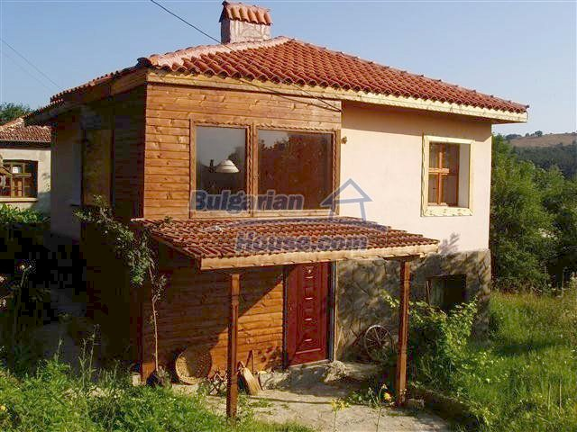 9989:19 - Renovated bulgarian house for sale in Burgas region, village of