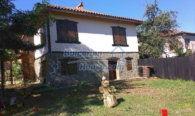 9989:25 - Renovated bulgarian house for sale in Burgas region, village of