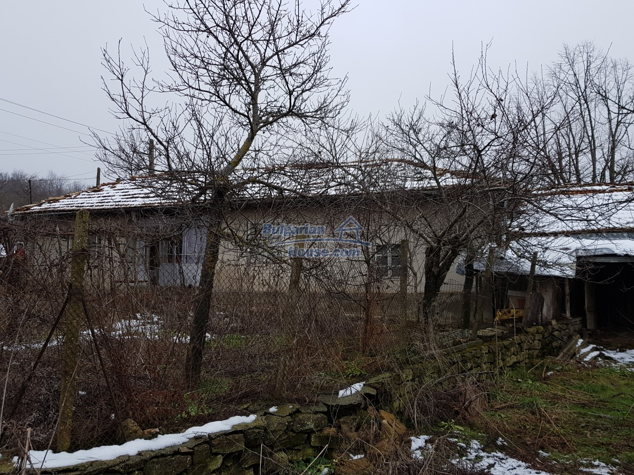 12715:34 - Cheap Bulgarian property for sale garden 2000sq.m Targovishte