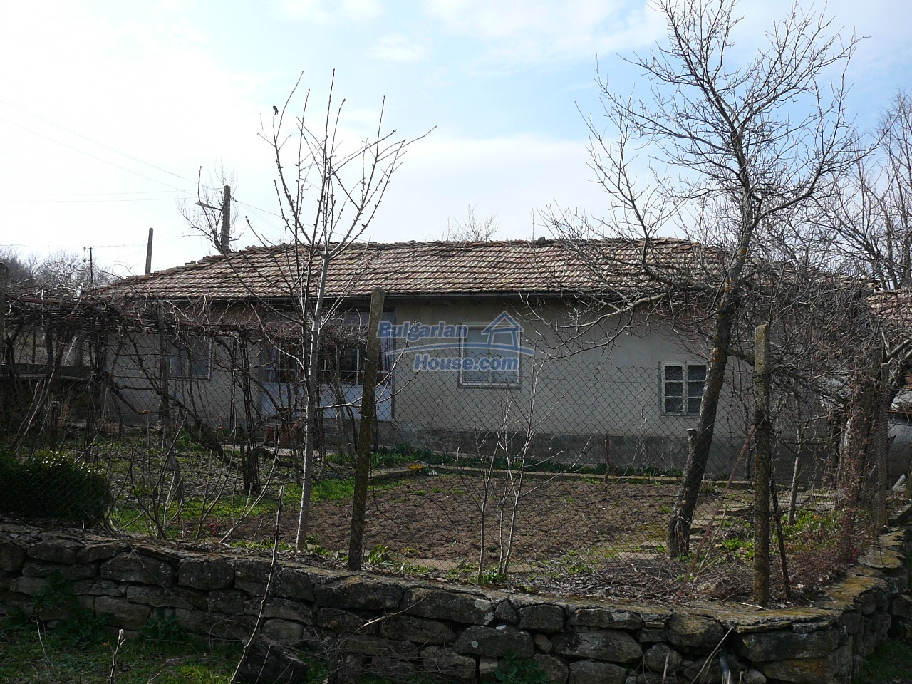 12715:44 - Cheap Bulgarian property for sale garden 2000sq.m Targovishte