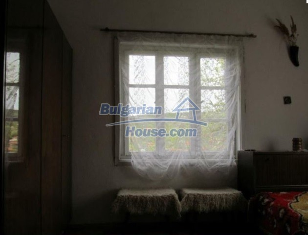 12728:12 - Bulgarian property for sale with marvellous views and big garden