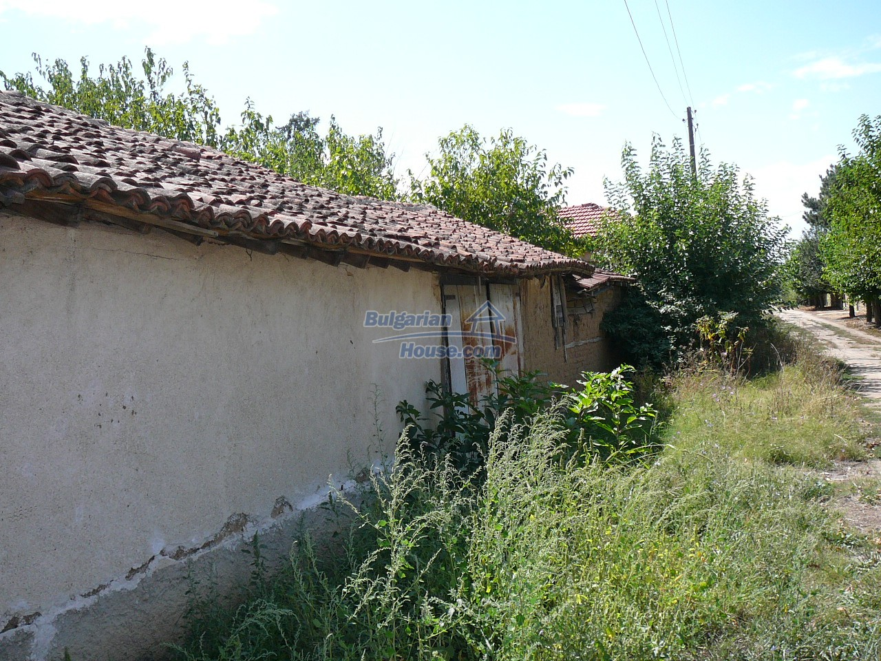 12527:64 - House  in good condition Stara Zagora region 55km to Plovdiv