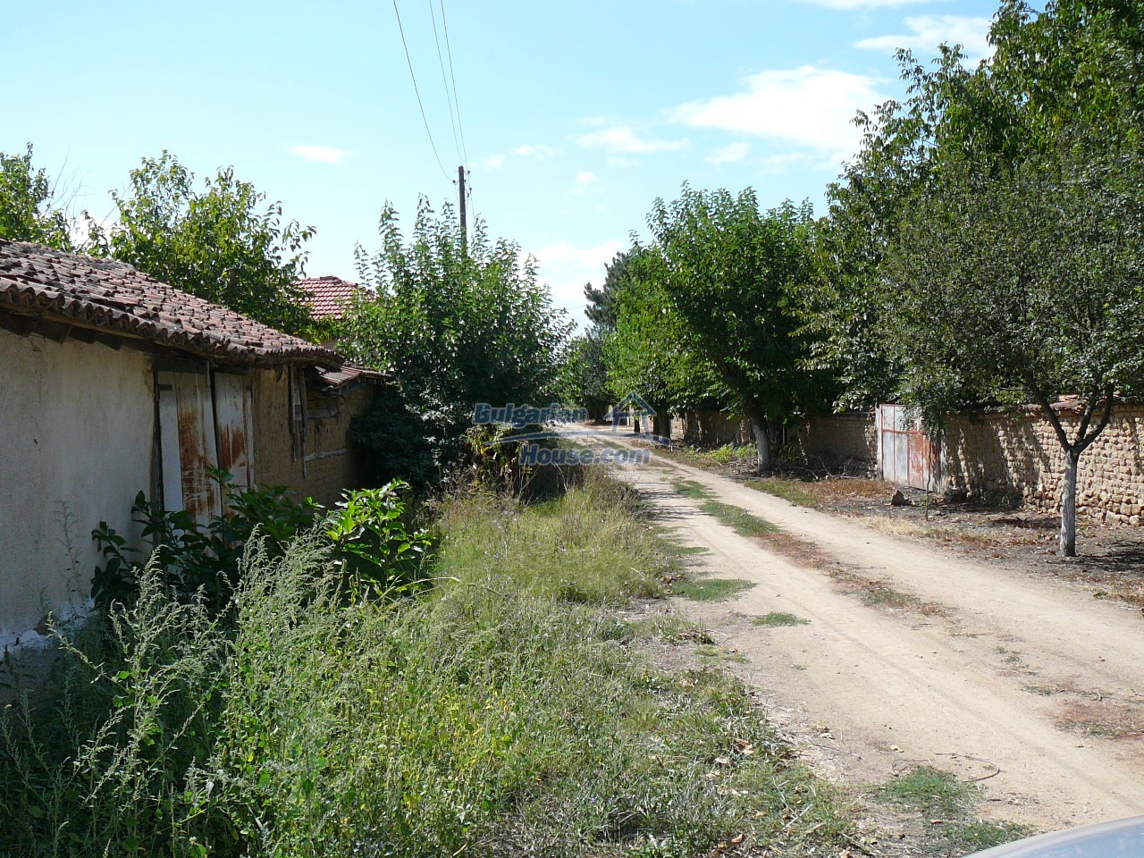 12527:63 - House  in good condition Stara Zagora region 55km to Plovdiv