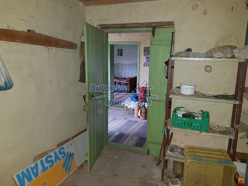 12712:30 - Cozy Bulgarian house for sale with garden of 5100sq.m, Popovo