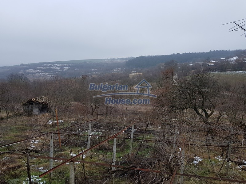 12712:54 - Cozy Bulgarian house for sale with garden of 5100sq.m, Popovo