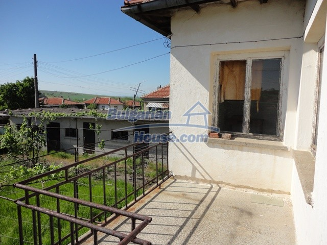 11057:6 - Cheap two-storey house in a green countryside, Yambol region