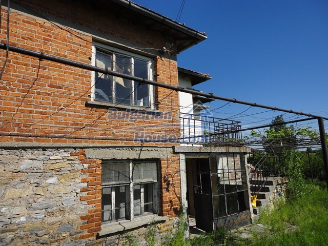 11057:12 - Cheap two-storey house in a green countryside, Yambol region