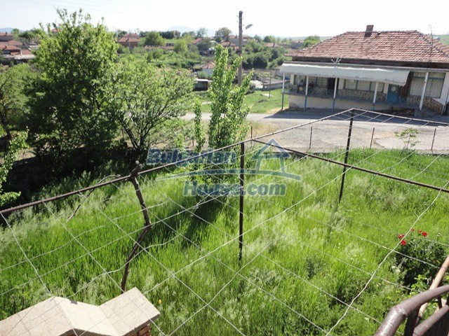 11057:9 - Cheap two-storey house in a green countryside, Yambol region