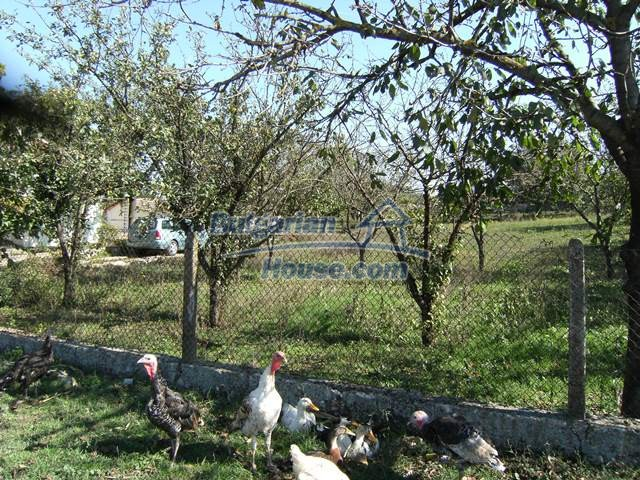 11051:10 - Charming rural house with a vast garden plot, Dobrich region