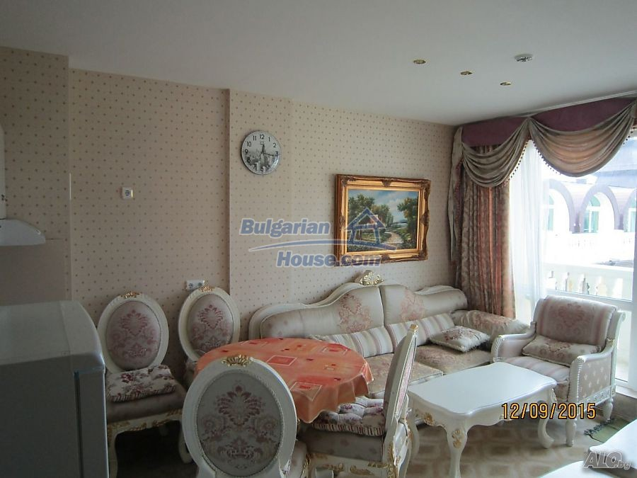 12746:10 - LuXURY studio apartment in Elenite, Sveti Vlas -FIRST LINE BEACH