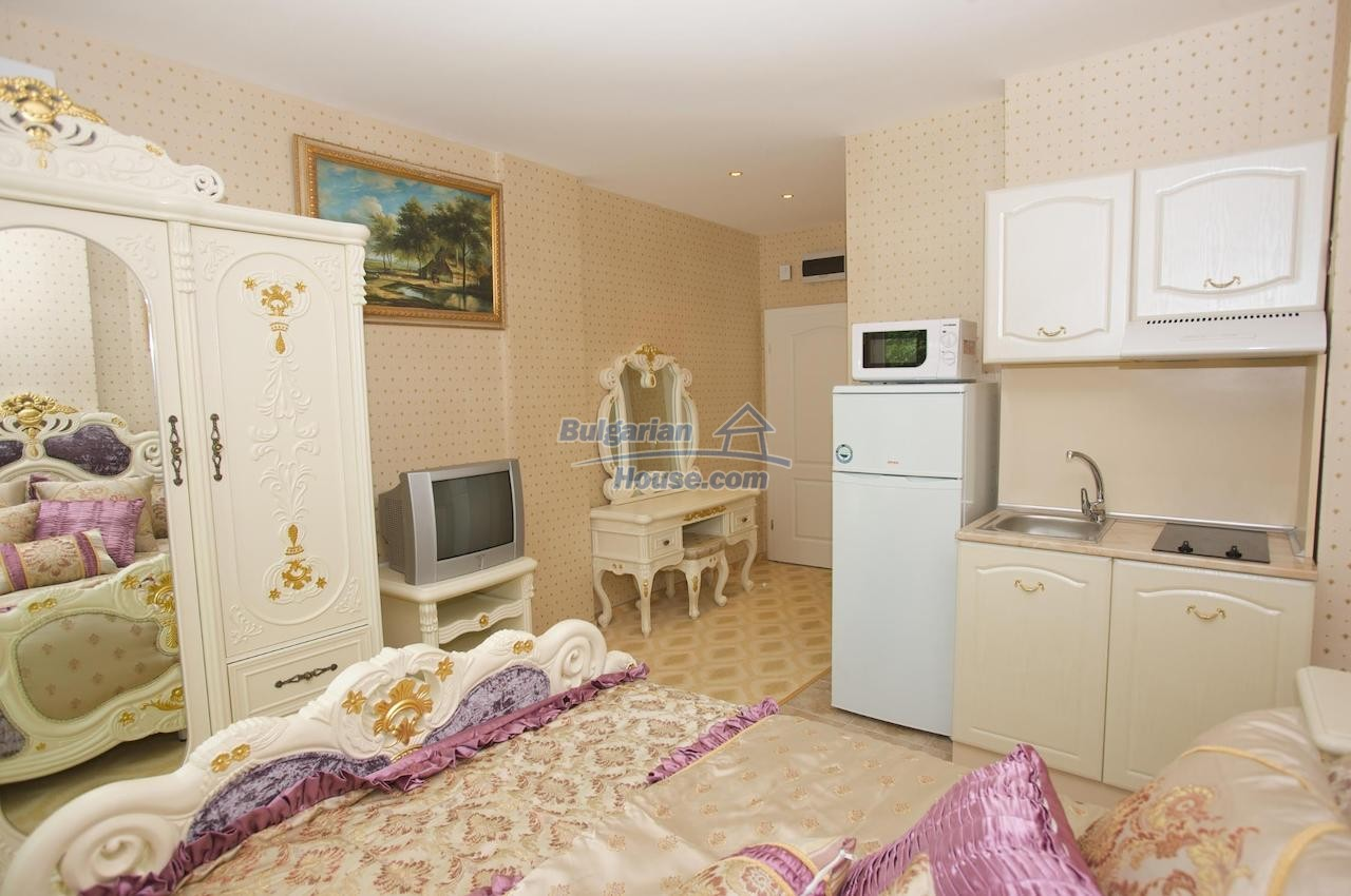 12746:20 - LuXURY studio apartment in Elenite, Sveti Vlas -FIRST LINE BEACH