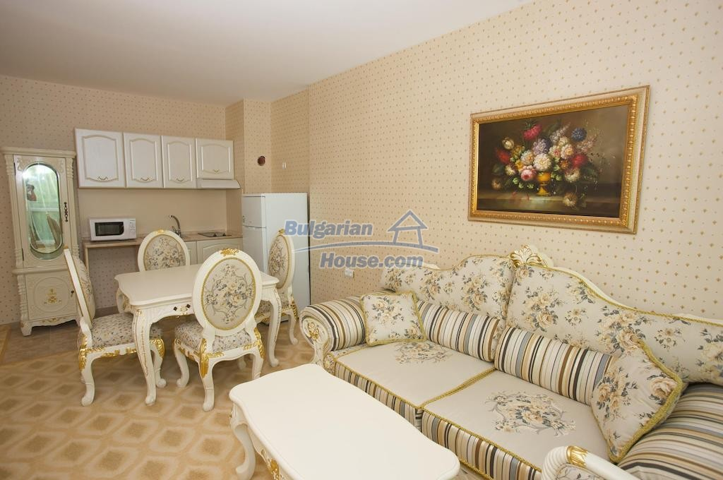 12746:22 - LuXURY studio apartment in Elenite, Sveti Vlas -FIRST LINE BEACH