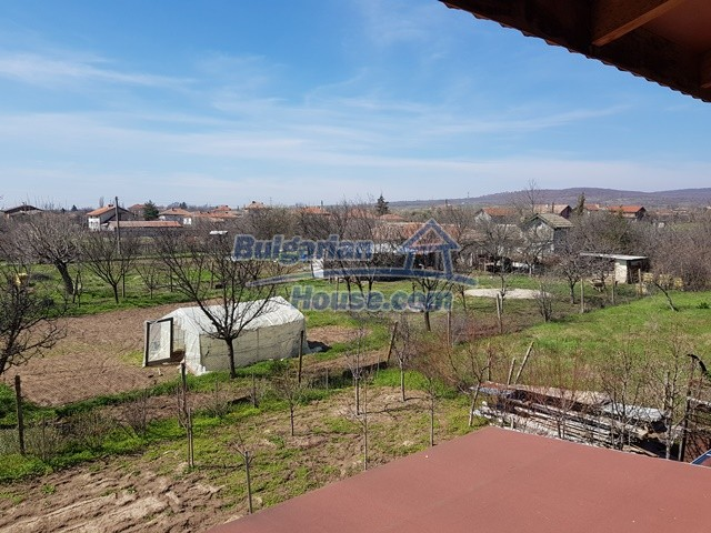 12730:31 - Two storey house for sale 35 km from Plovdiv with nice views