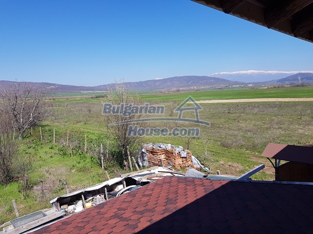 12730:32 - Two storey house for sale 35 km from Plovdiv with nice views