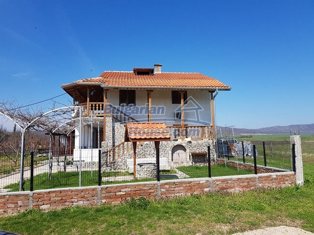 12730:55 - Two storey house for sale 35 km from Plovdiv with nice views