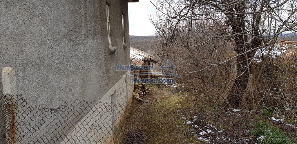 12823:15 - Cheap Bulgarian house with garden 5000sq.m next to lake