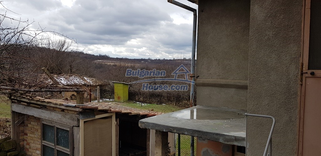12823:19 - Cheap Bulgarian house with garden 5000sq.m next to lake