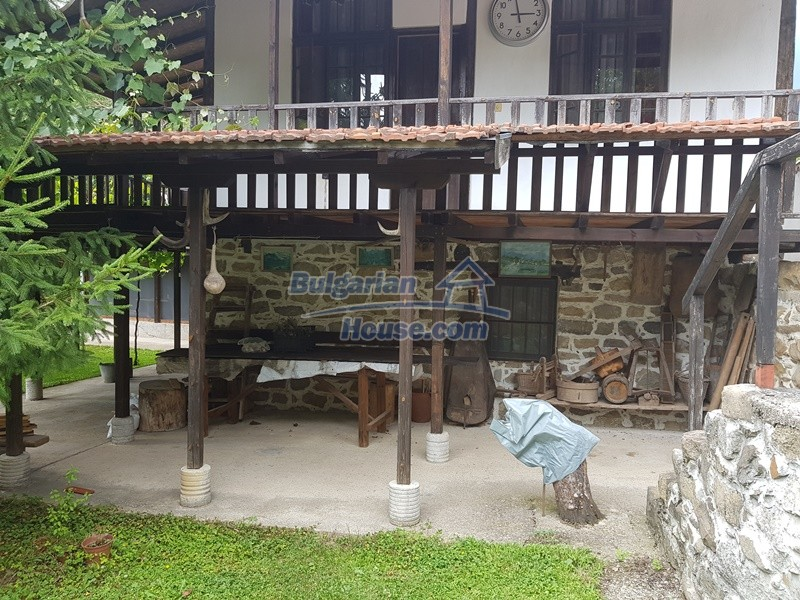 12861:4 - House for sale next to river in forest  50km to Veliko Tarnovo
